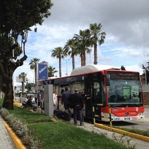 alibus bushalte halte napels naples napoli
