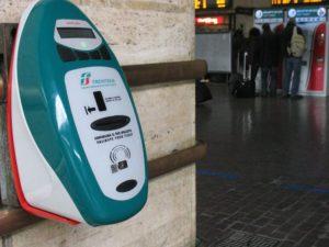 stempelautomaat treinkaartjes italy italia