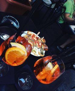 Spritz aperitivo Salerno Italy