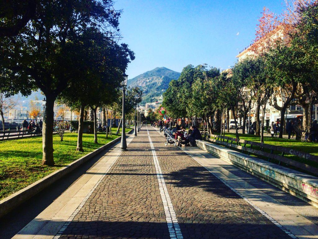 Boulevard Salerno Italy Italia