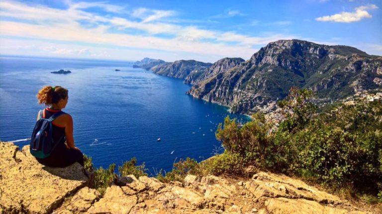 hiken hiking amalfi coast kust salerno italy