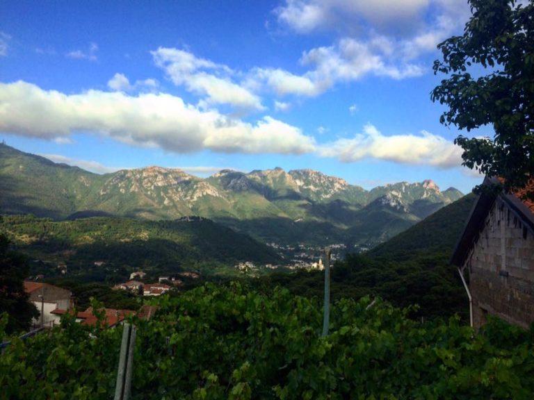 Tramonti salerno italia italy
