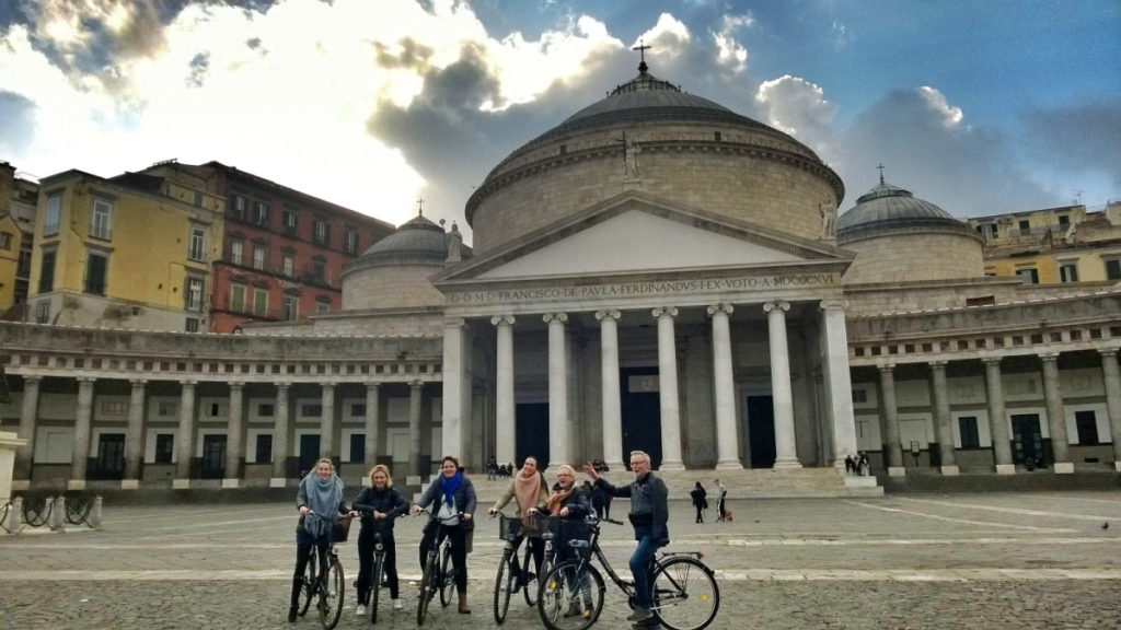 ride a bike naples napoli napels salerno italia italy