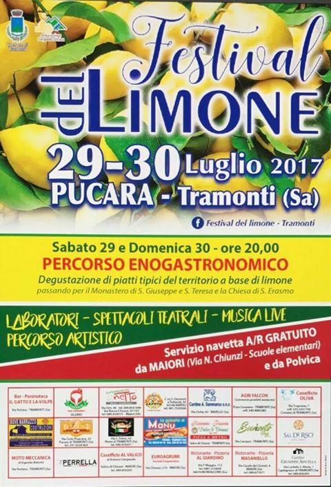 festival limone citroen amalfi kust amalfi coast salerno campania tramonti