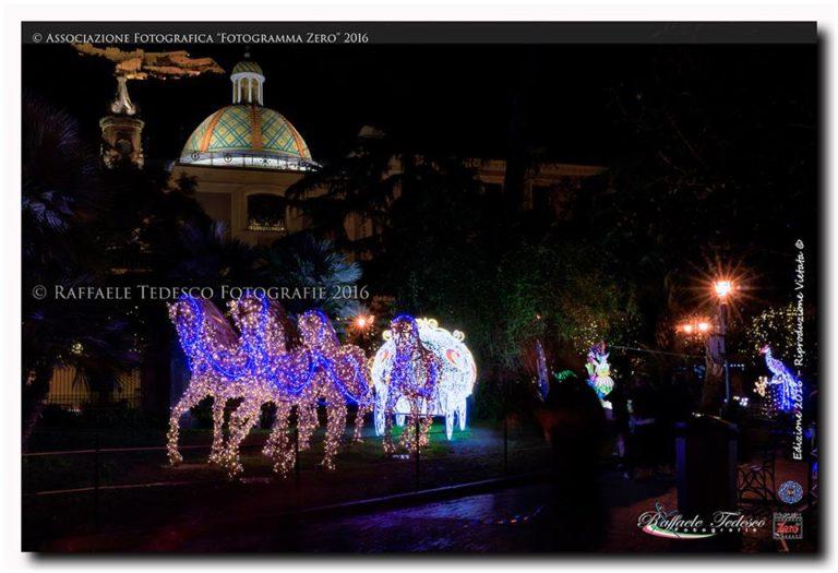 luci d'artista salerno campania natale christmas