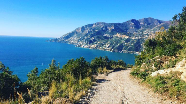 maiori salerno travel hike walk campania