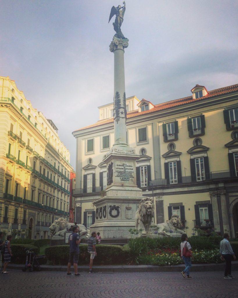 piazza dei martiri, naples, napels, napoli, elena ferrante, salerno, salerno travel
