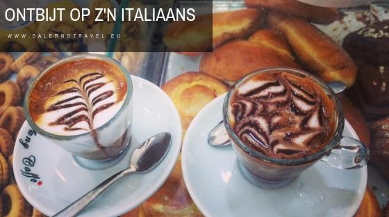 ontbijt, italië, italia, italy, salerno, salerno travel, italiaans ontbijt, napels, napoli, naples, eten