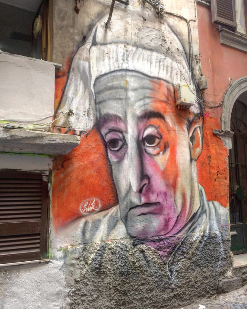 street art totò in napels