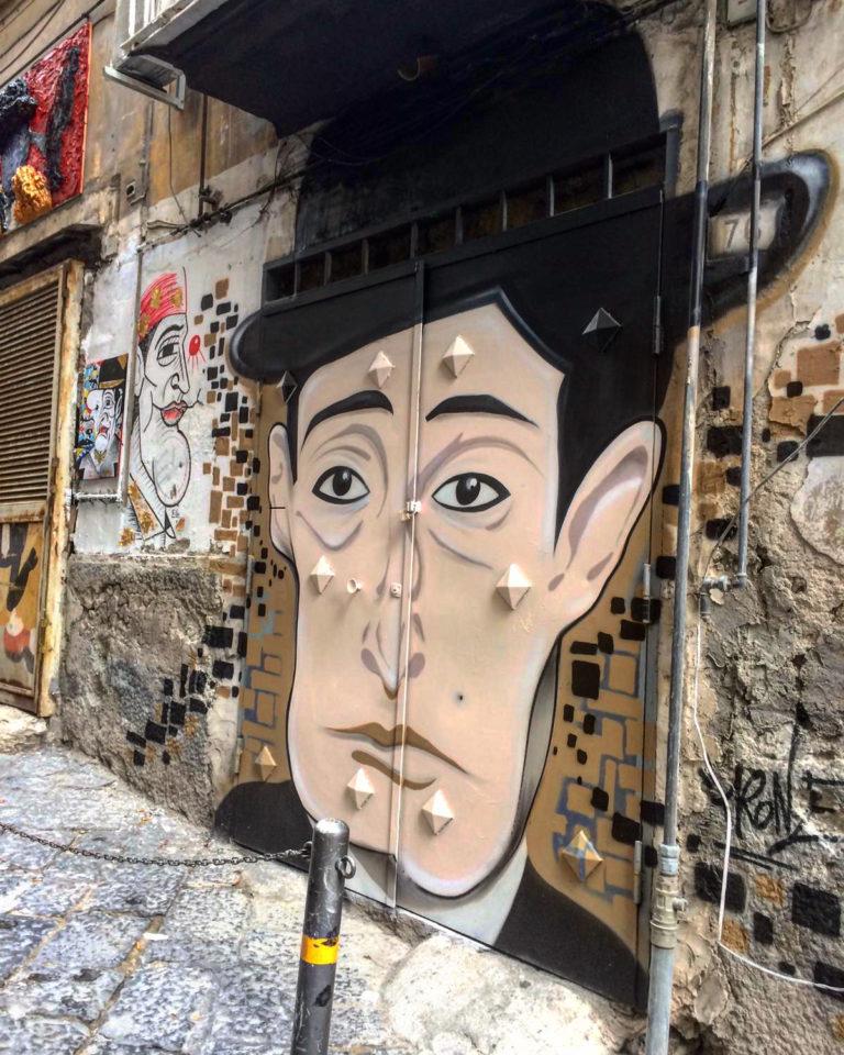 street art totò in napels