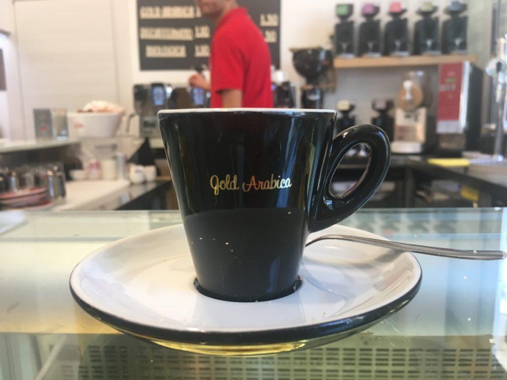 koffie, espresso, salerno