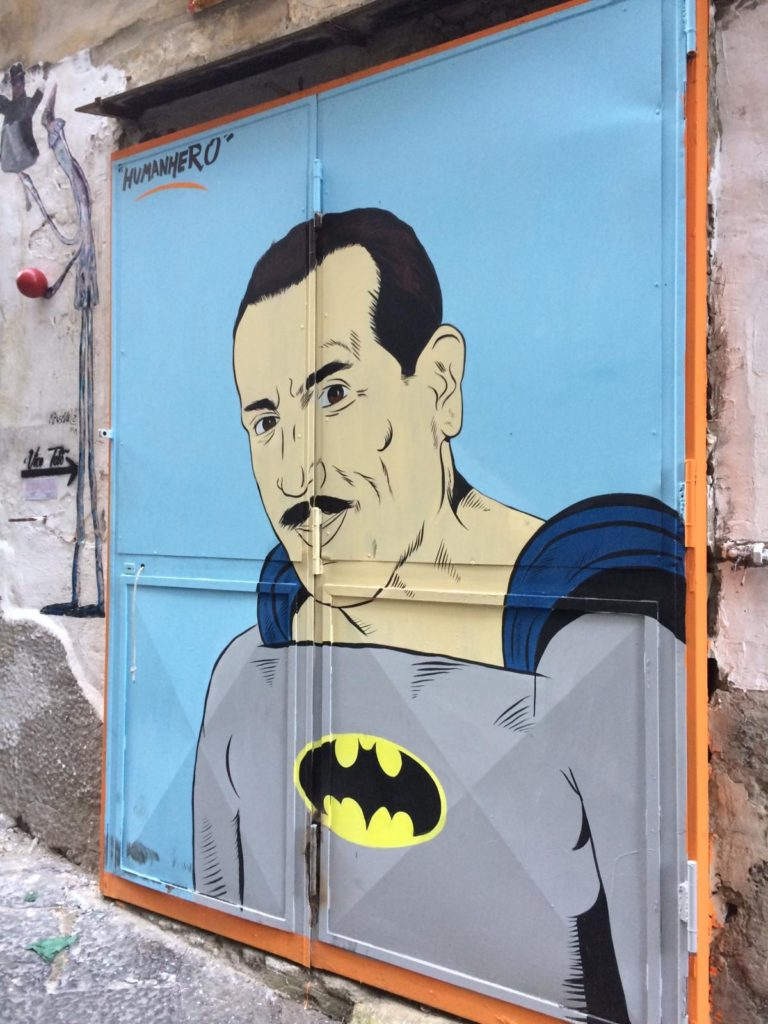 peppino napels street art