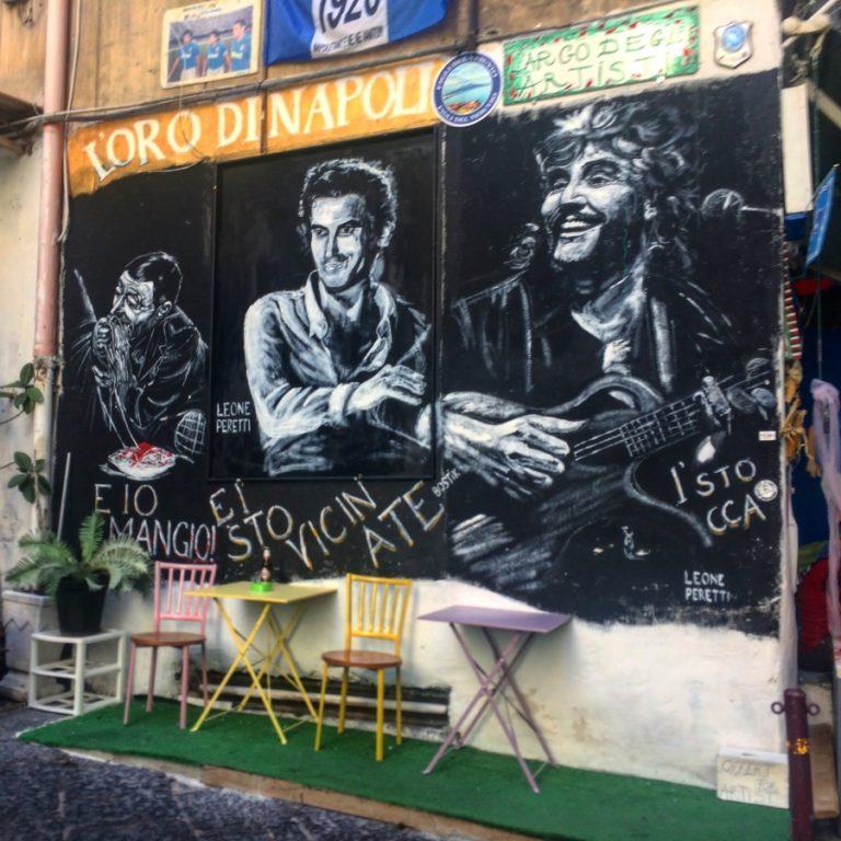pino daniele massimo troisi street art