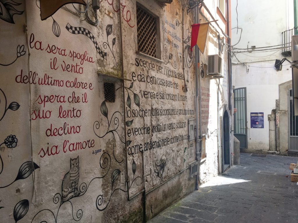 street art in salerno