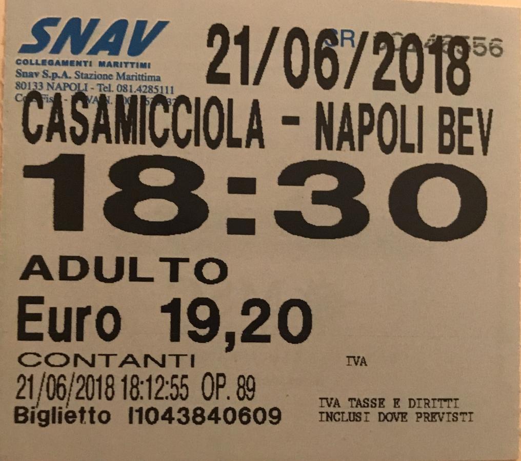 ferry napels capri ischia procida