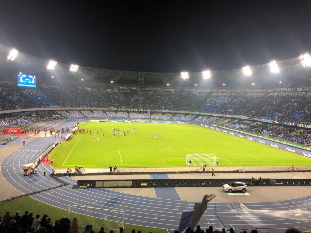 stadio san paolo napels napoli voetbal mertens
