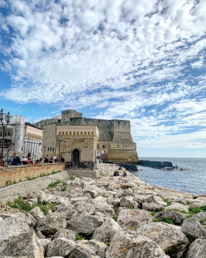 castel dell'ovo, kasteel, napels, ei, vergilius