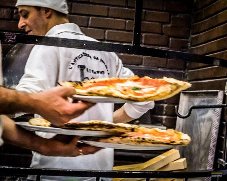 pizza, napels, da michele, napoli