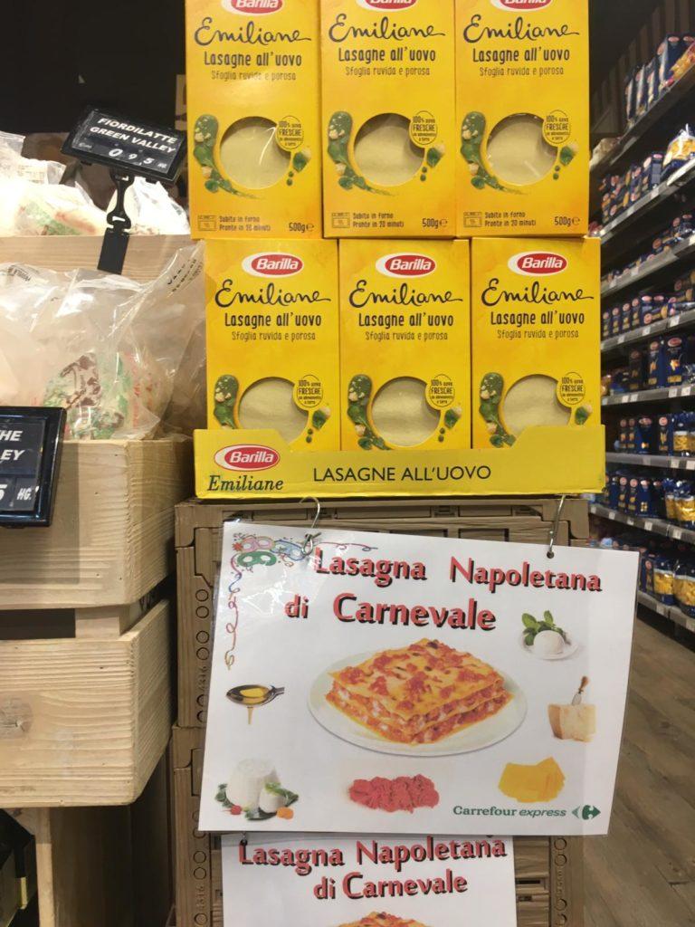 lasagne napels napoli