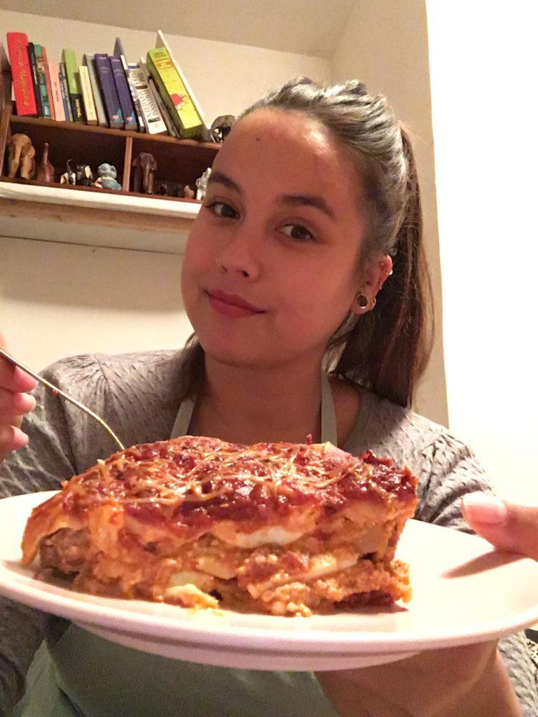 lasagne, local napels michelle napoli