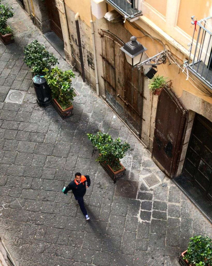 lockdown salerno italie italia napels napoli naples