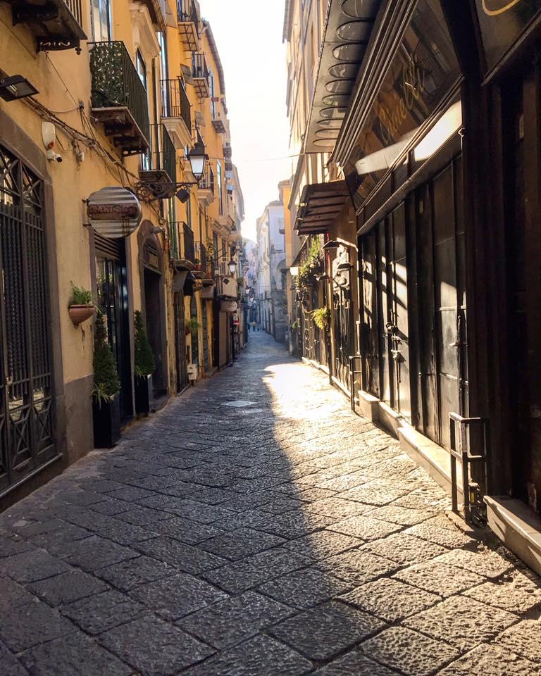 salerno lockdown italie