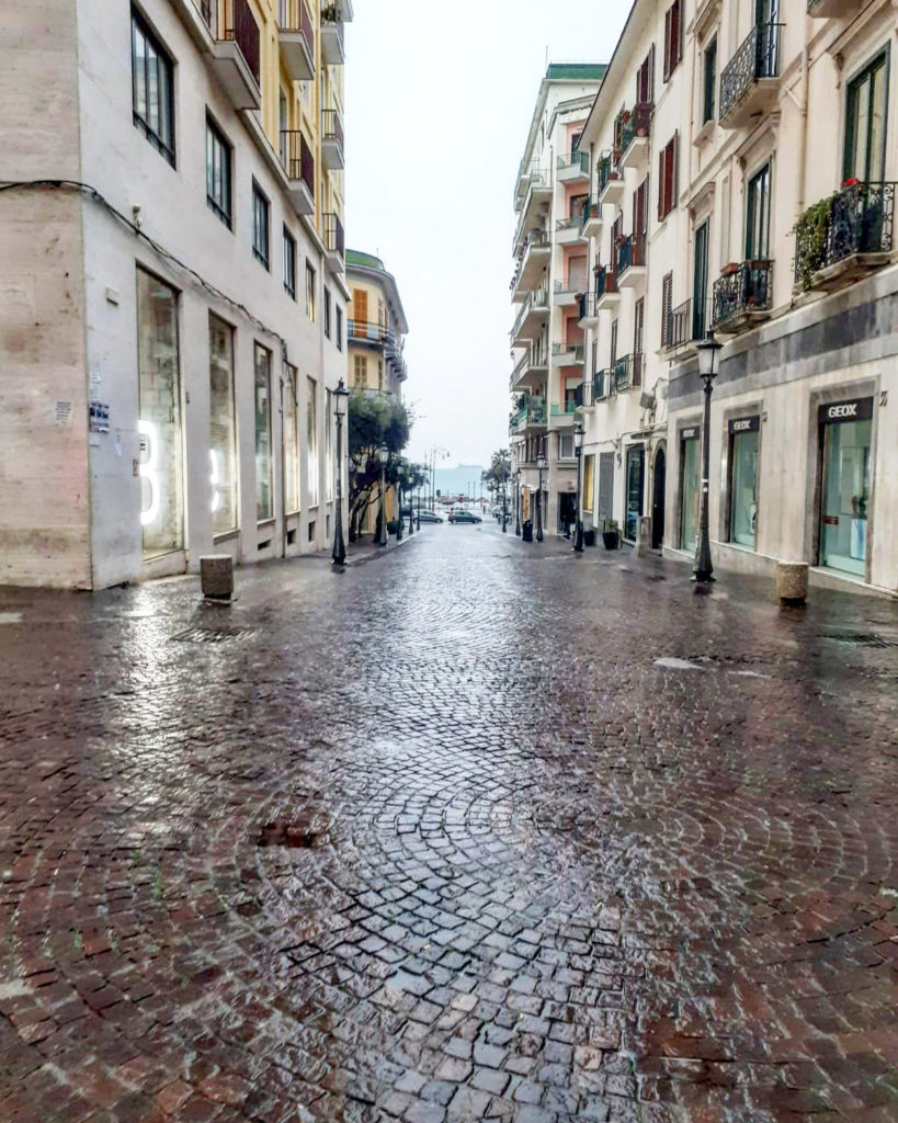 salerno streets lockdown naples napoli napels