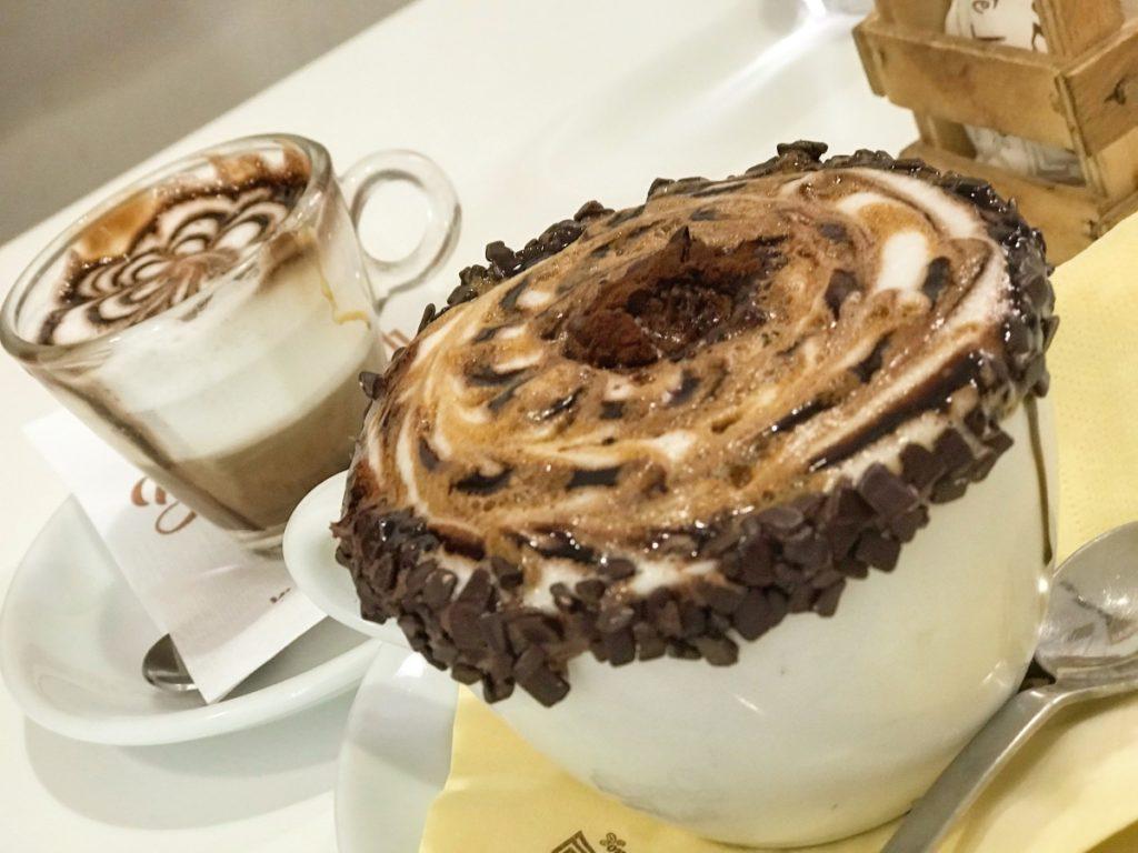 cappuccino ontbijt salerno napels naples napoli italiaans