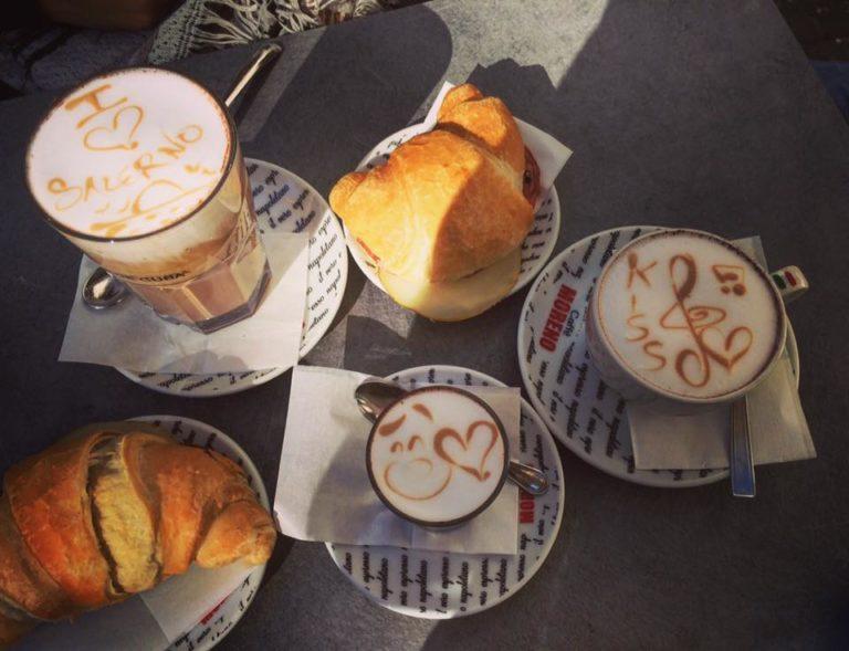 koffie ontbijt italie italiaans napels naples napoli salerno
