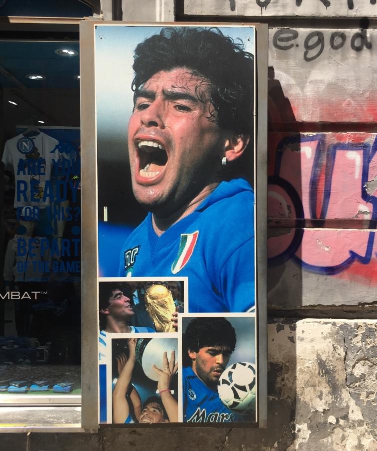 maradona napels napoli voetbal