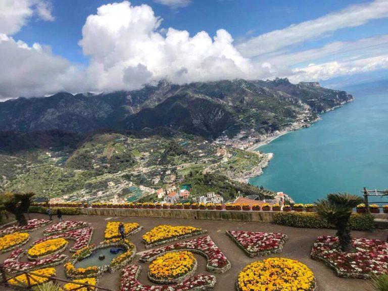 ravello villa rufolo panorama amalfikust salerno