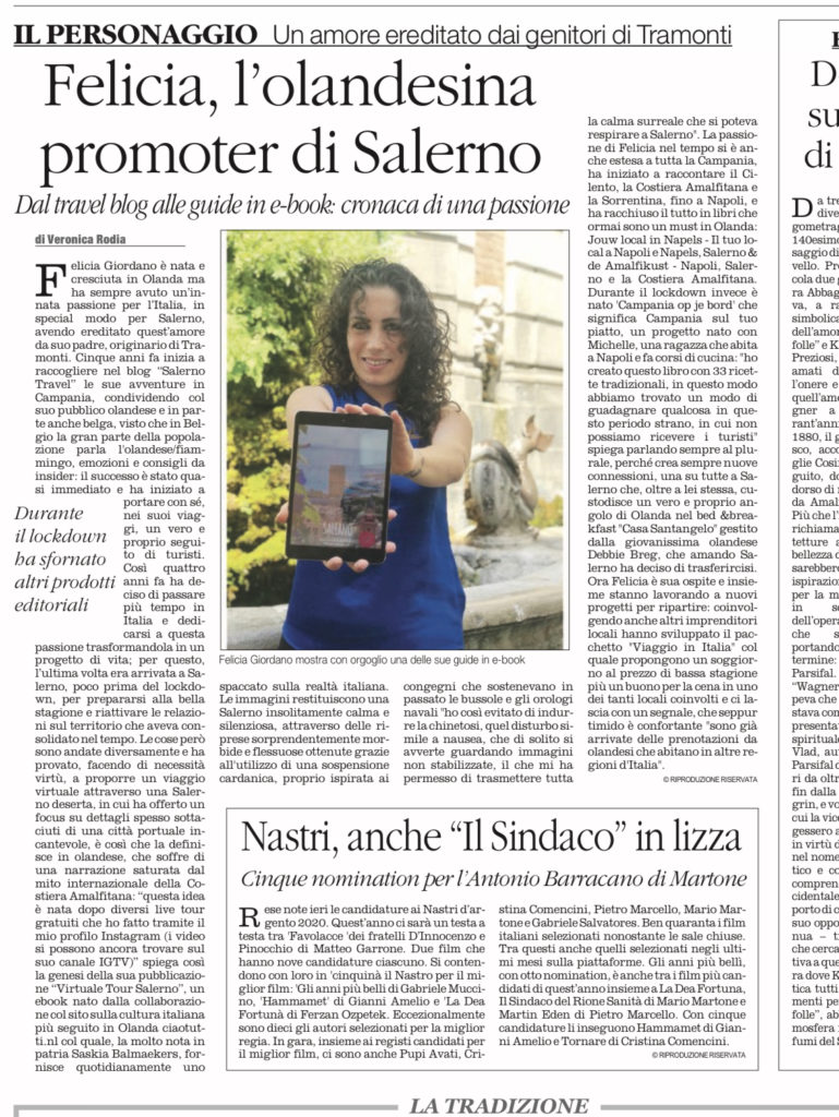 interview salerno travel