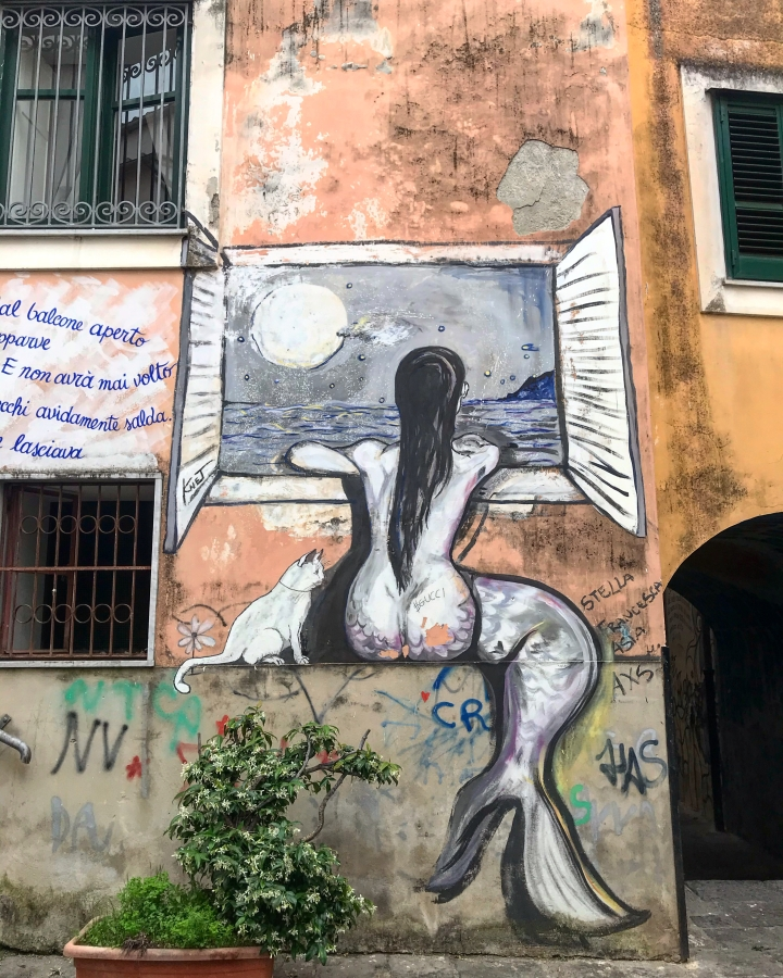 knet street art salerno napels naples napoli tour virtuele tour local