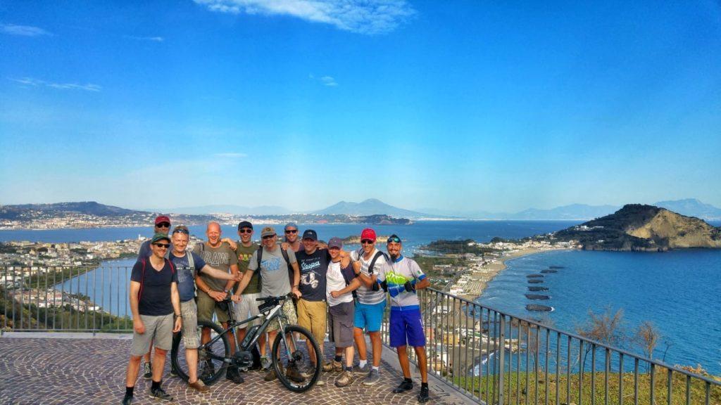 fietsen campi flegrei fietstour actief napels naples napoli