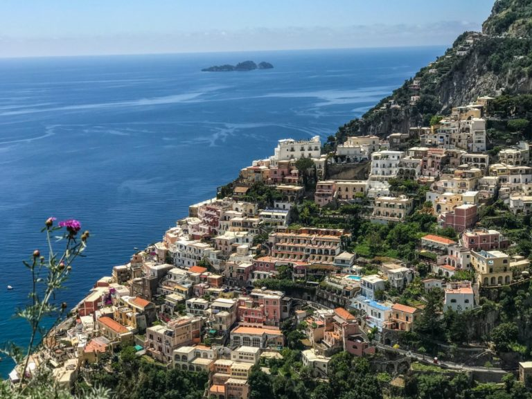positano salerno amalfikust amalfi coast