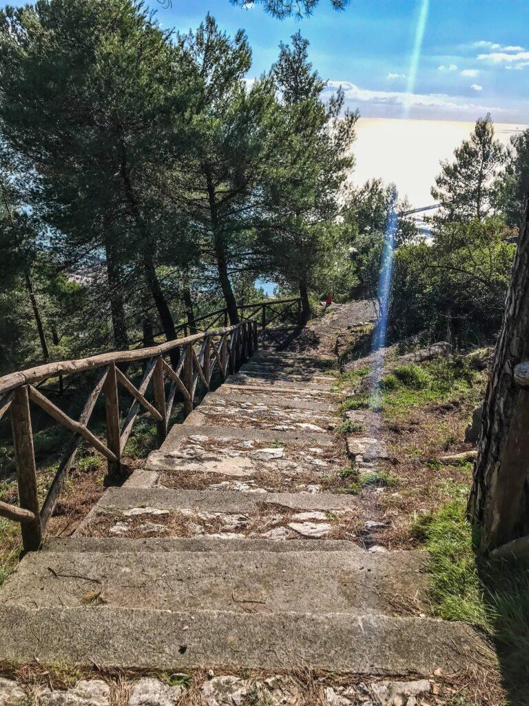 castello arechi salerno kasteel sentiero principe