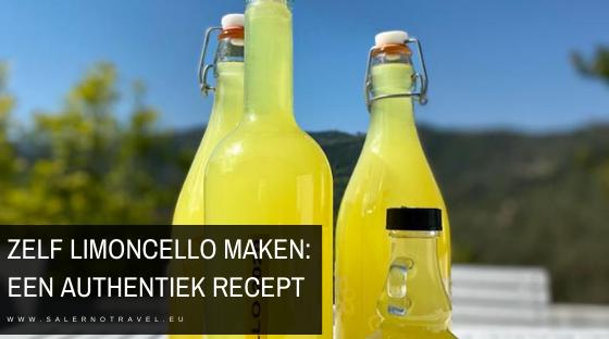 recept limoncello zelf maken
