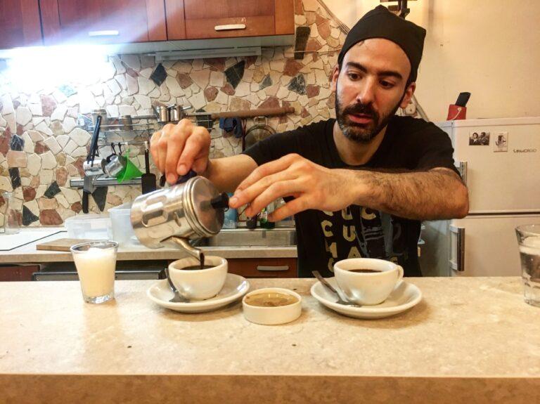 koffie napels cuccuma