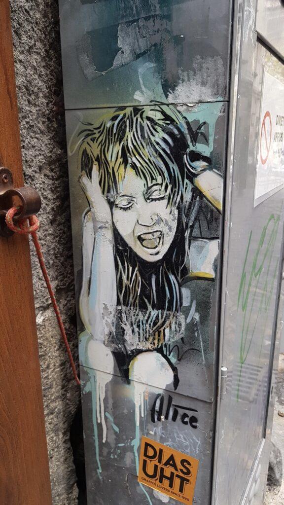 alice pasquini napels street art