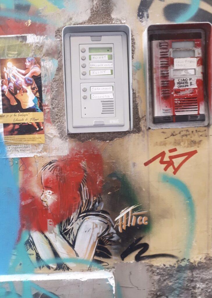 alice pasquini napels street art tour