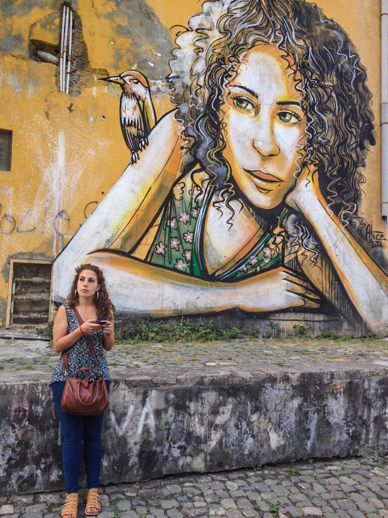 alice pasquini street art cabo verde