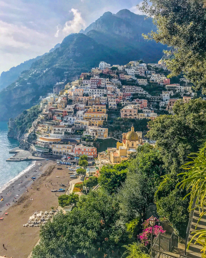 positano amalfikust amalfi coast