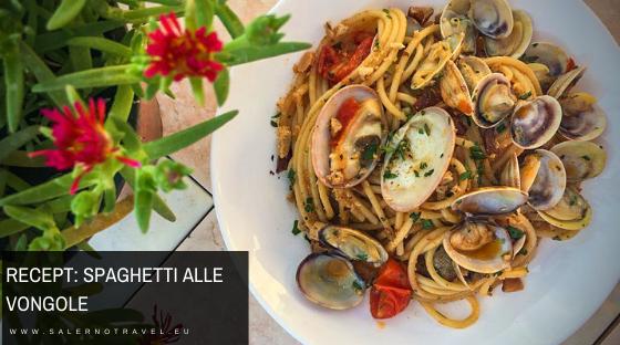recept spaghetti vongole