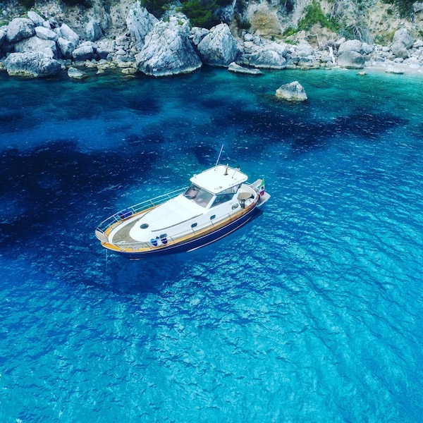 boottocht Capri vespa tour amalfikust