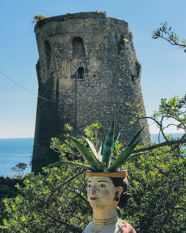 praiano amalfikust toren