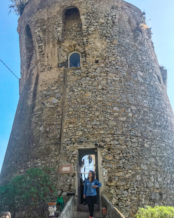 toren praiano amalfikust